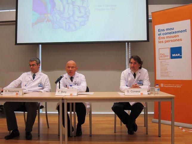 El Hospital del Mar incorpora un robot para tratar epilepsias
