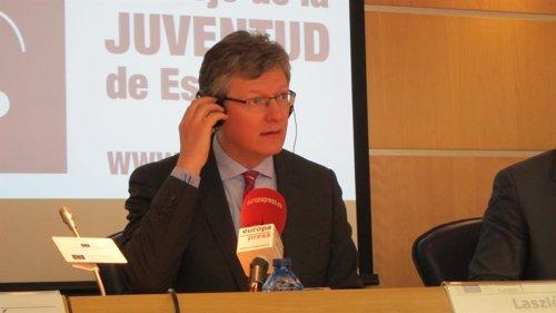 El Comisario Europeo de Empleo, László Ándor