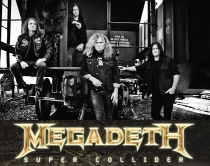 Megadeth regresan con 'Super Collider'