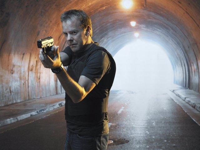 Kiefer Sutherland es Jack Bauer en 24