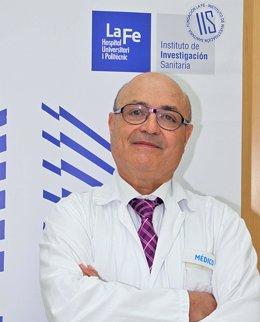El doctor Juan Jesús Vílchez, del Hospital La Fe