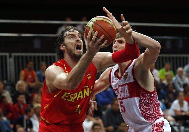 España Rusia baloncesto