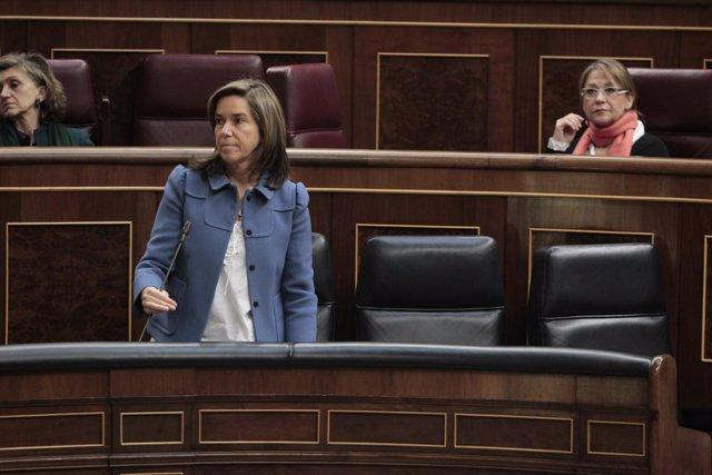 Ana Mato, arropada en el Congreso