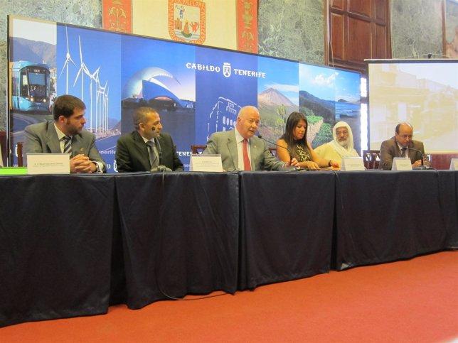 Rueda de prensa sobre visita delegación marroquí