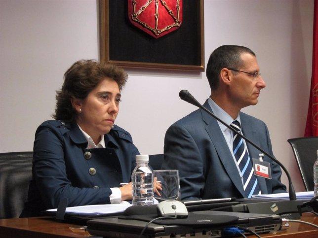 Mercedes Elizalde y Alberto Pérez, representantes del Sindicato Médico.