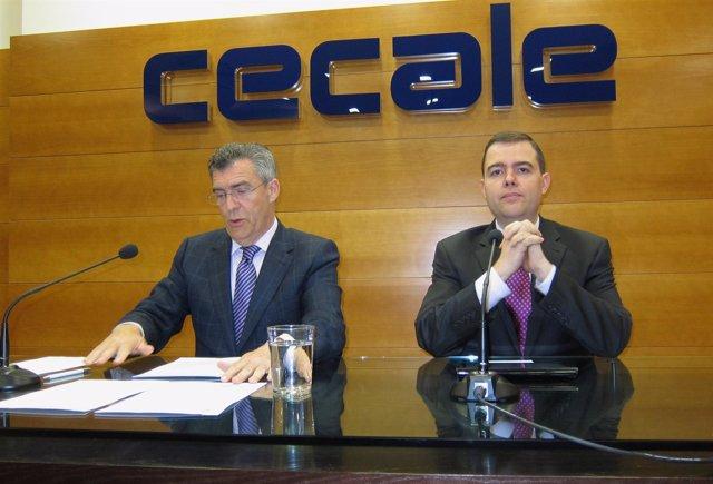 Javier Cepedano (i) y Guillermo Villaverde (d)