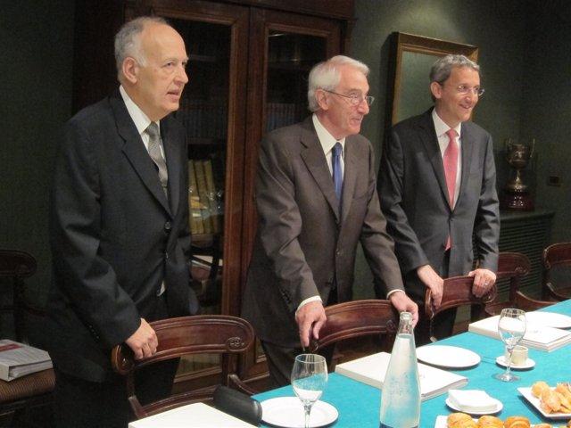 Albert Basañez, Jordi Mercader Y Jordi Mercader De Miquel Y Costas
