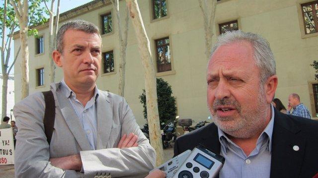 Daniel Bueno y Antonio Jiménez