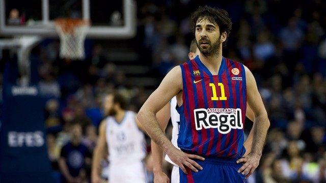 El capitán del FC Barcelona Regal Juan Carlos Navarro