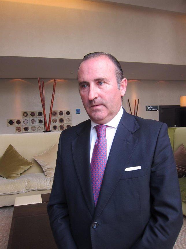 Pablo Junceda, subdirector general de Sabadell, responsable del banco en Galicia