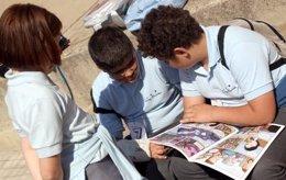 Alumnos en un colegio de la Comunitat Valenciana