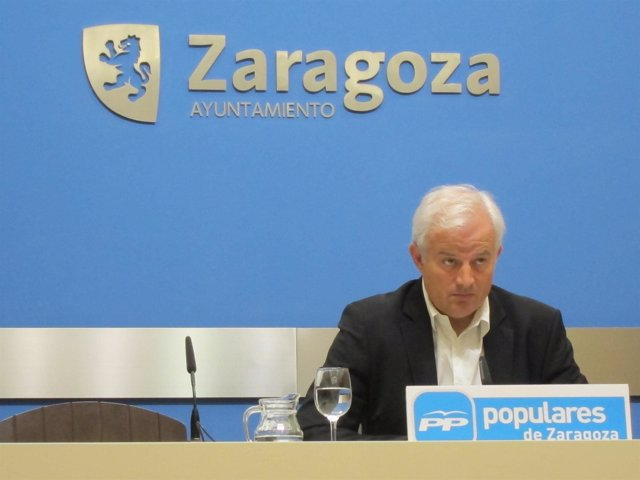 El portavoz del PP, Eloy Suárez