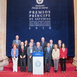 Miembros del jurado del Premio Príncipe de Asturias de Ciencias Sociales