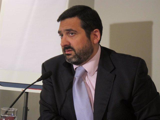 El consejero delegado de Vueling, Álex Cruz