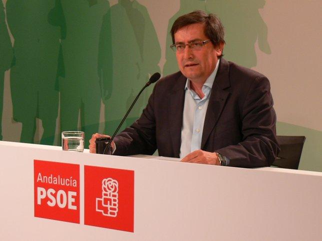 El vicesecretario general del PSOE de Granada, José Entrena