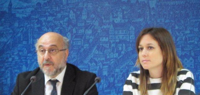 Perezagua y Ana Isabel Fernández, Ayuntamiento de Toledo