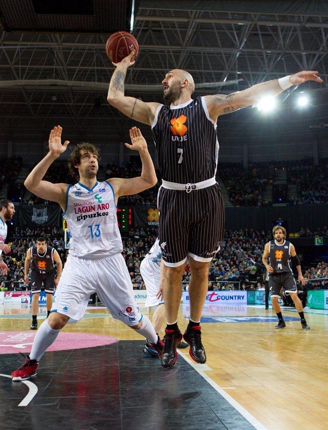 Milovan Rakovic  Uxue Bilbao Basket  Lagun Aro GBC