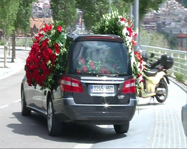 Coche fúnebre de Constantino Romero