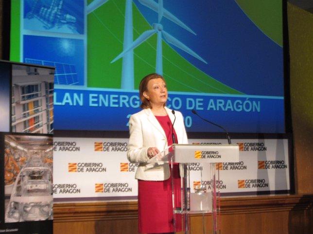 La presidenta Luisa Fernanda Rudi ha presentado el Plan Energético de Aragón