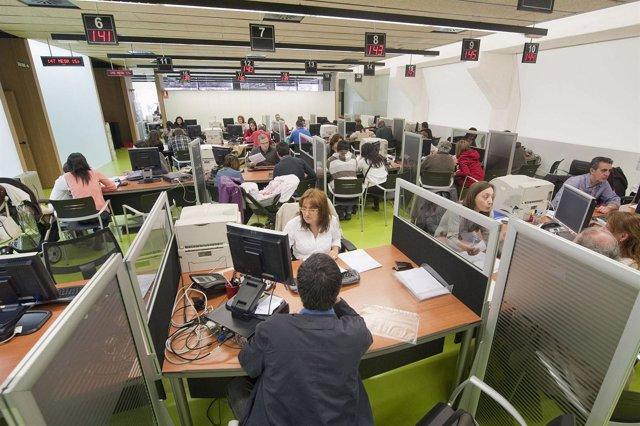 Oficina de la declaración de la renta de Pamplona