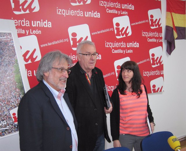 De izquierda a derecha: González, Lara y Sánchez