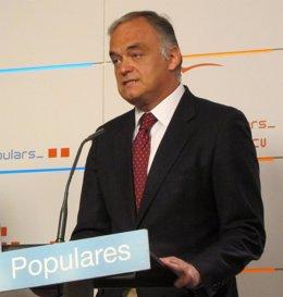 El vicesecretario de Estudios y Programas del PP, Esteban González Pons.