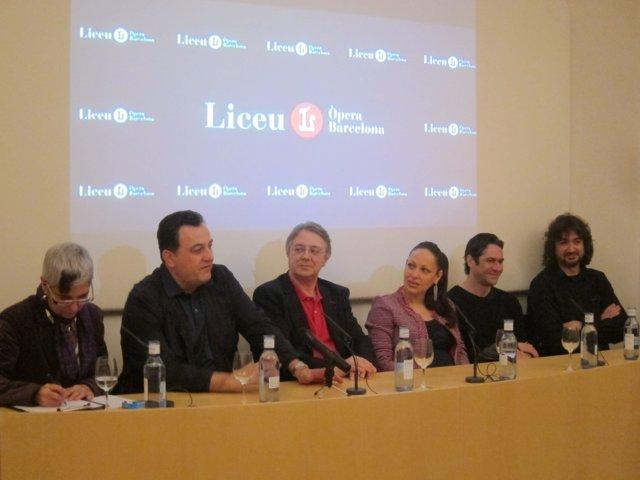 Presentación de 'Il turco in Italia' de Rossini en el Liceu