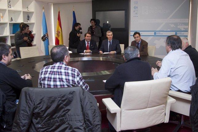 O conselleiro de Economía e Industria, Francisco Conde, manterá unha reunión co