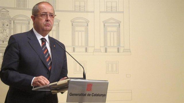 El conseller Felip Puig