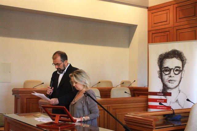 Acto de homenaje a Estellés celebrado en Burjassot