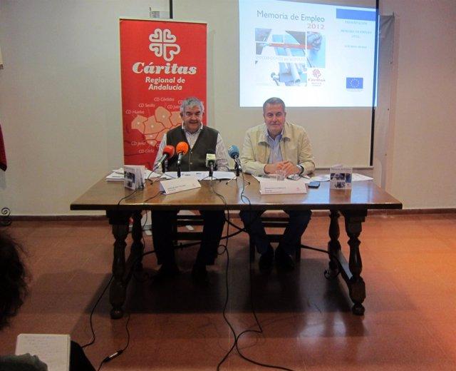 Presentación de los datos de empleo de Cáritas andaluzas