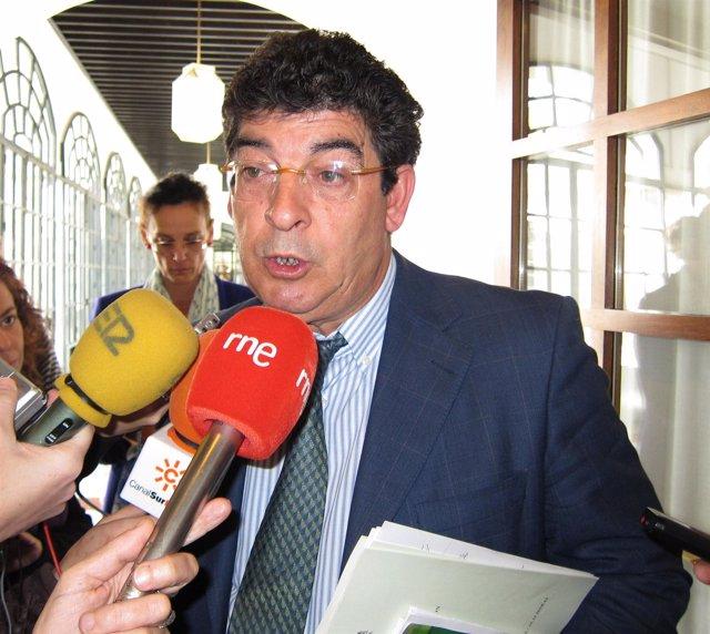 Diego Valderas en el Parlamento