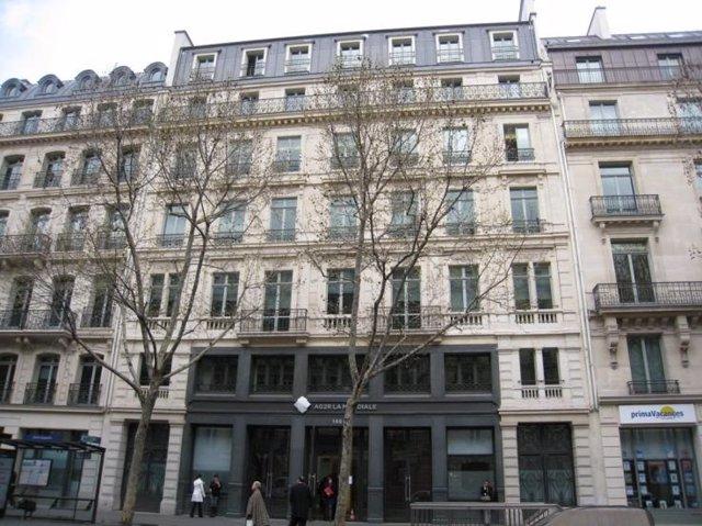 Uno de los edificios de SFL (Colonial) en París