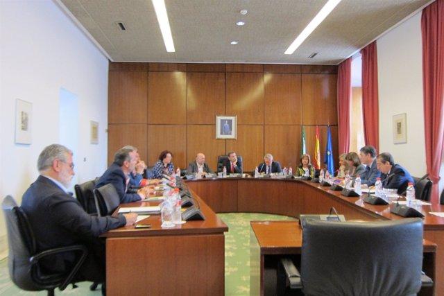 Reunión hoy de la Junta de Portavoces
