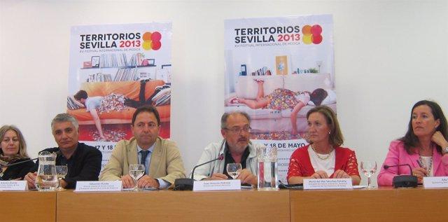 Rueda de prensa de presentación del Festival Territorios