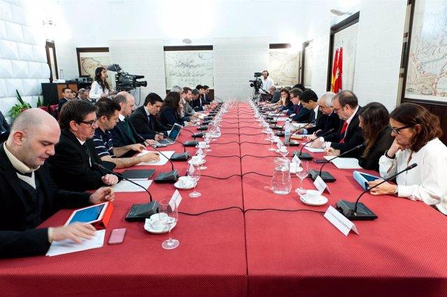 Participantes en la Jornada de trabajo sobre Transparencia y Gobierno Abierto
