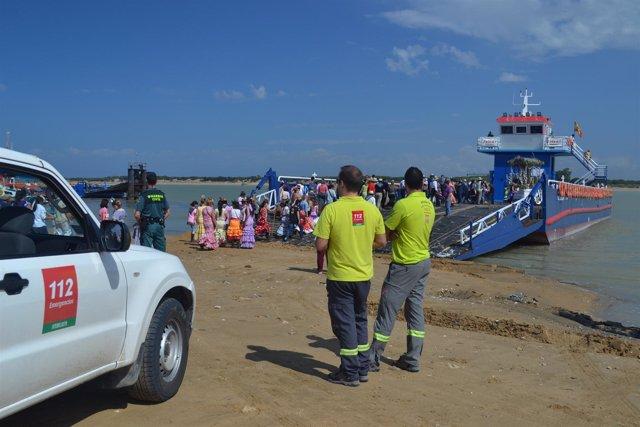 Barcaza de Sanlúcar de Barrameda.