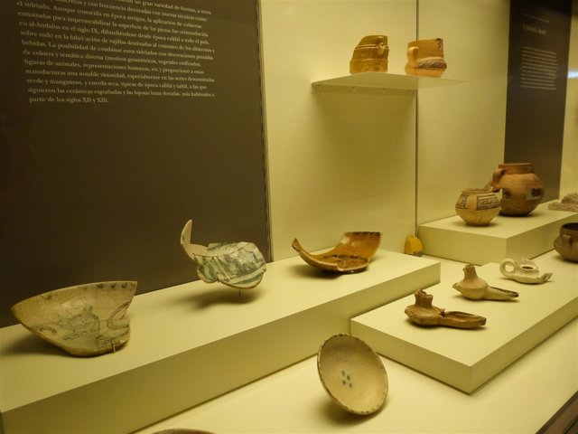 Algunas de las piezas expuestas en el Museo