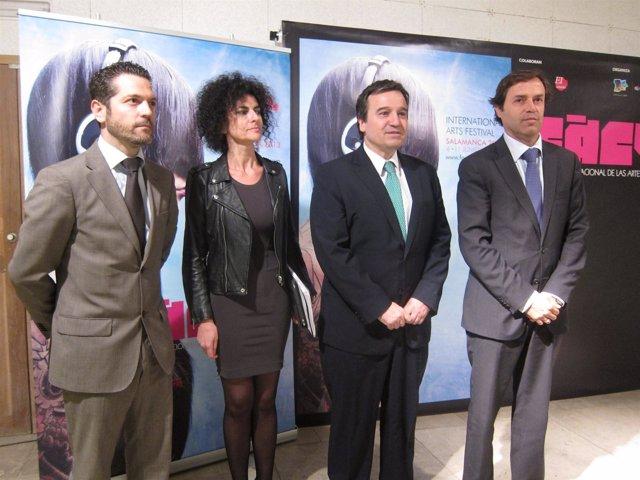 Autoridades en la presentación de la programación de FÀCYL 2013