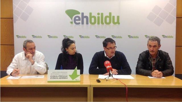 Representantes de EH BILDU