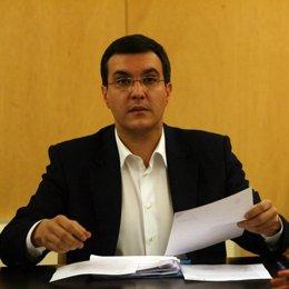El secretario general del Grupo Popular en el Congreso, José Luis Ayllón