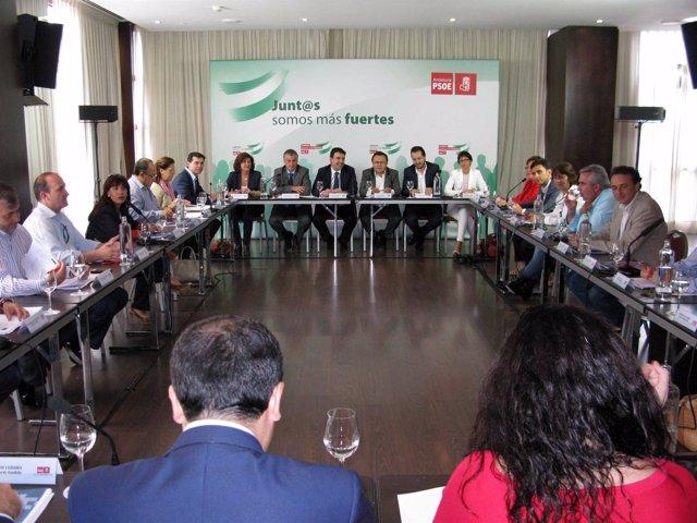 Reunión Consejo Territorial PSOE en Fuengirola