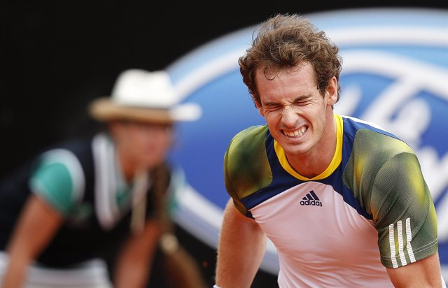 El tenista escocés Andy Murray