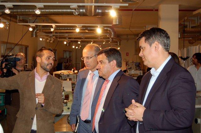 Loaiza en la Factoría de Innovación en Ubrique