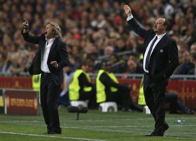 El entrenador del Benfica, Jorge Jesús