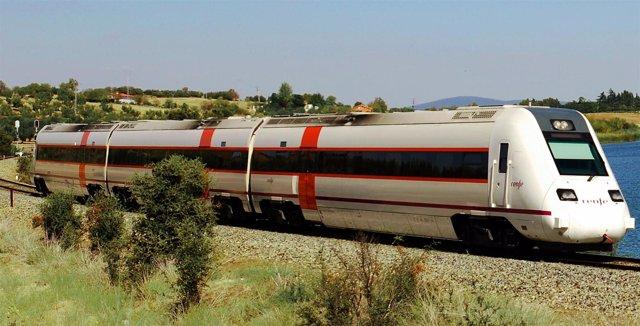 Tren Sevilla-Mérida