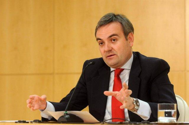 Enrique Núñez en rueda de prensa