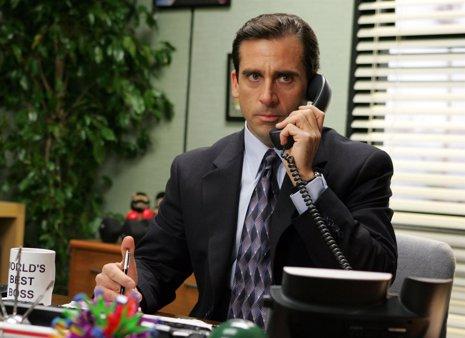 Steve Carell en The Office