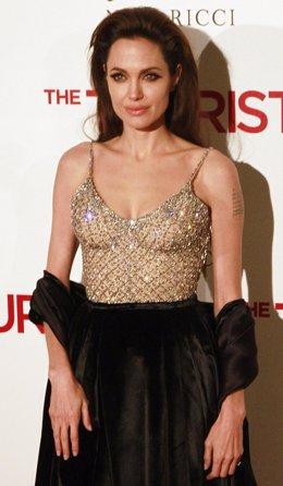 Angelina Jolie En El Estreno En España De The Tourist