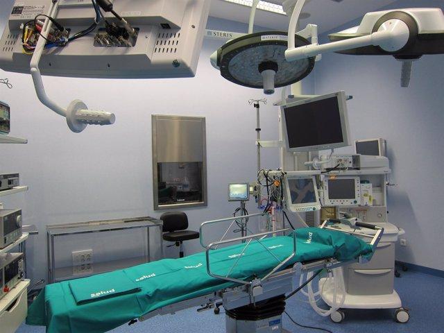 Quirófano Del Hospital Provincial De Zaragoza